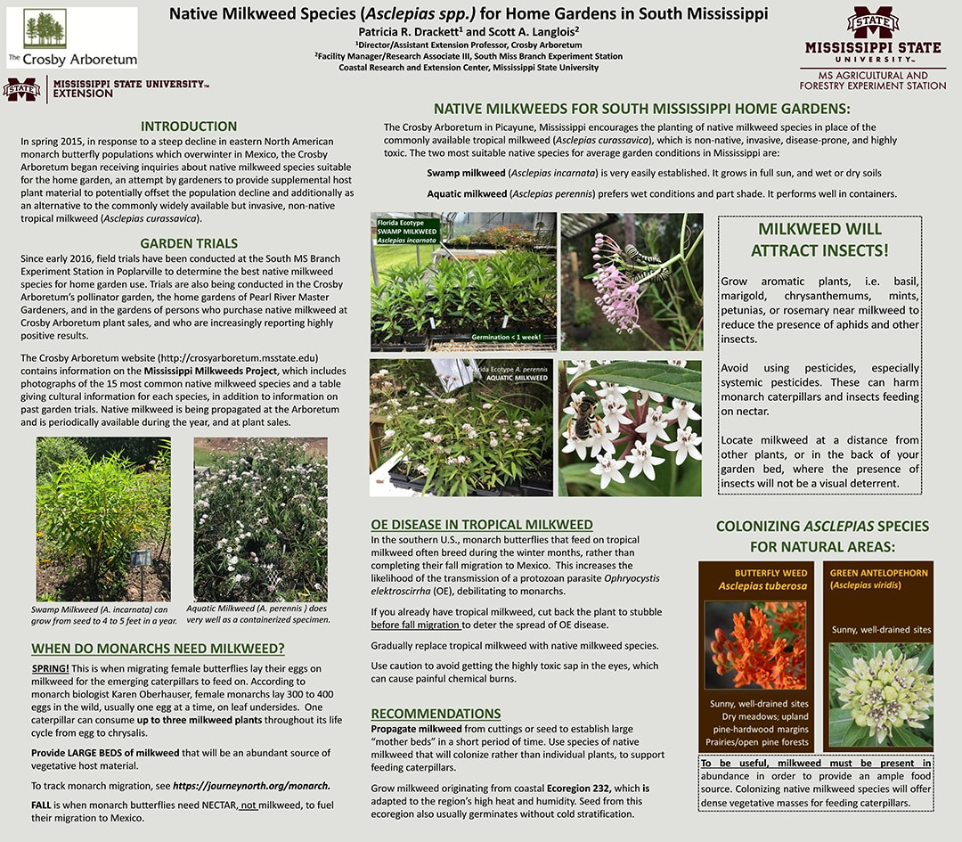 Milkweed Field Day Poster